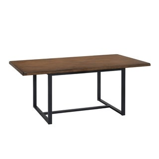 """Westwater 38"""" x 72"""" Metal and Wood Table"""