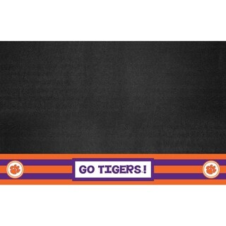 """Clemson Southern Style Grill Mat 26""""x42"""""""