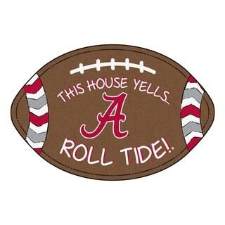 "Alabama Southern Style Football Rug 20.5""x32.5"""