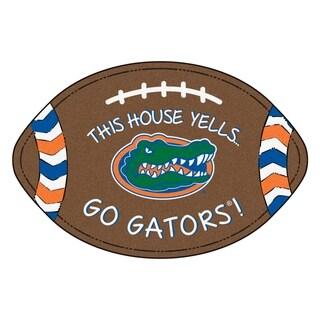 "Florida Southern Style Football Rug 20.5""x32.5"""