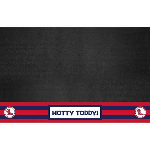 """Ole Miss Southern Style Grill Mat 26""""x42"""""""