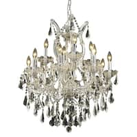 Fleur Illumination 13 light Chrome Chandelier