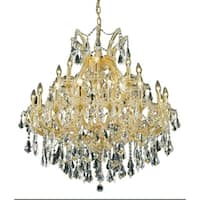 Fleur Illumination 24 light Gold Chandelier