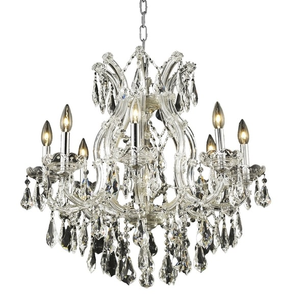 Fleur Illumination 9 light Chrome Chandelier