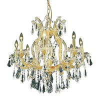 Fleur Illumination 9 light Gold Chandelier