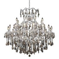 Fleur Illumination 24 light Chrome Chandelier