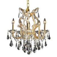 Fleur Illumination 6 light Gold Chandelier