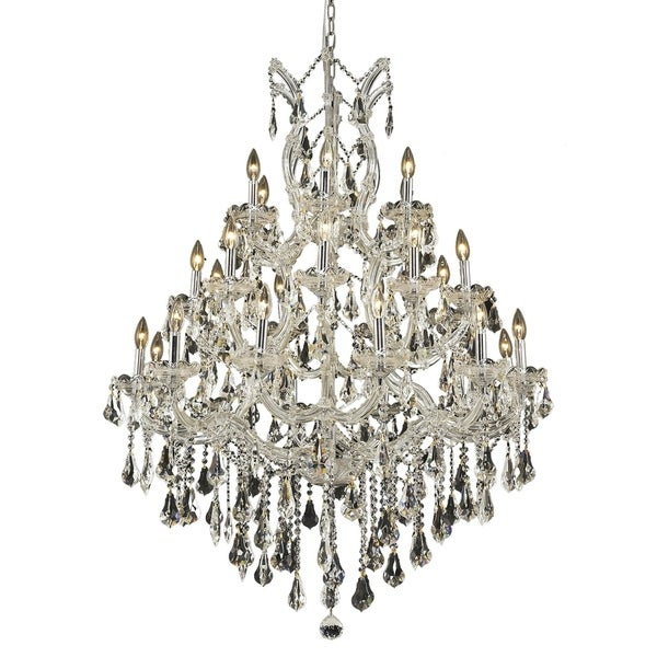 Fleur Illumination 28 light Chrome Chandelier