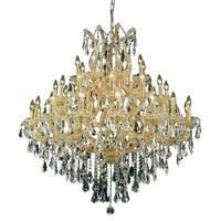 Fleur Illumination 37 light Gold Chandelier