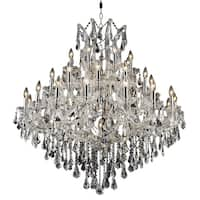 Fleur Illumination 37 light Chrome Chandelier