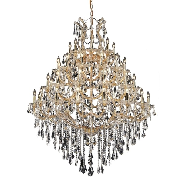 Fleur Illumination 49 light Gold Chandelier