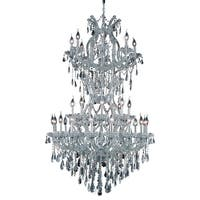Fleur Illumination 34 light Chrome Chandelier