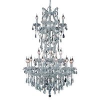 Fleur Illumination 25 light Chrome Chandelier
