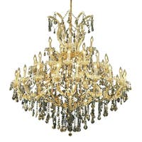 Fleur Illumination 41 light Gold Chandelier