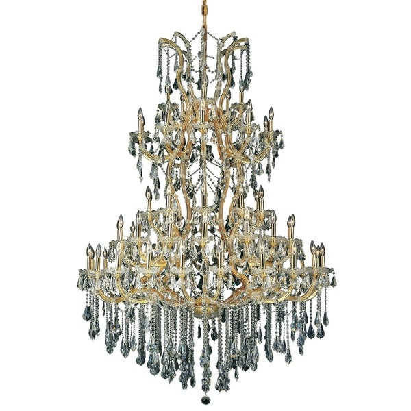 Fleur Illumination 61 light Gold Chandelier