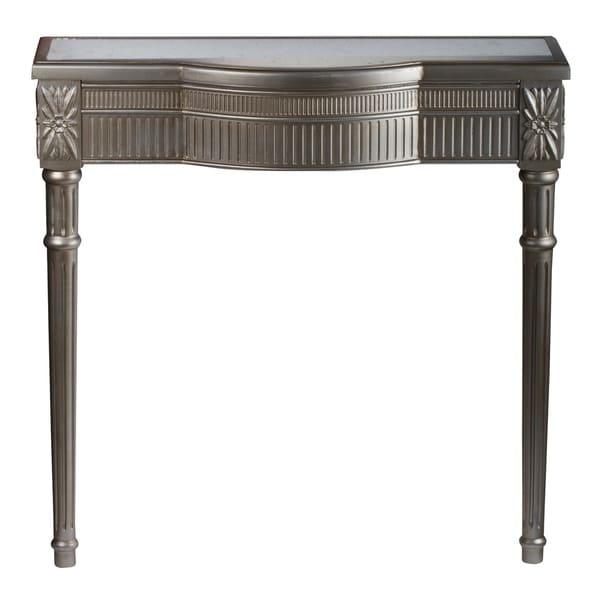 """Half Wall Table: Shop Bernard Half Wall Table, 36x12x36"""""""