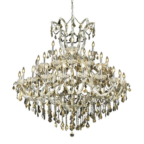 Fleur Illumination Collection Chandelier D:52in H:54in Lt:41 Chrome Finish