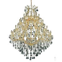 Fleur Illumination Collection Chandelier D:46in H:62in Lt:49 Gold Finish