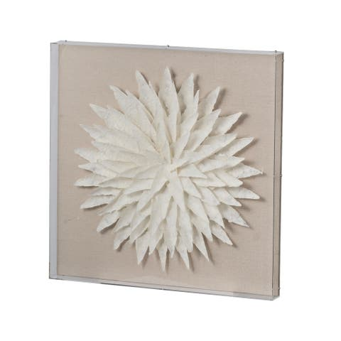Paper Cotoure Wall Art, 24x2x24 inches