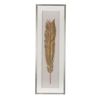 Gold Leaf Framed Wall Art 16x47 inches