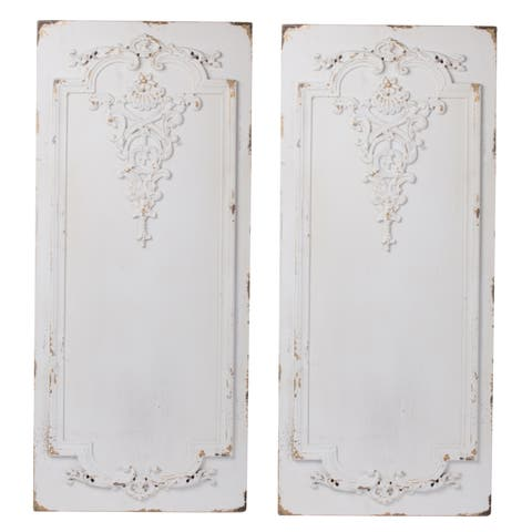 Set of 2 Prasoon Wall Panels, 15.5x2x36 inches