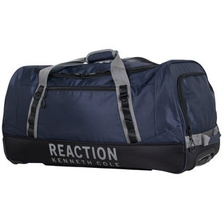 Kenneth Cole Reaction 30-inch Lightweight Large Capacity 2-Wheel Rolling Duffel Bag