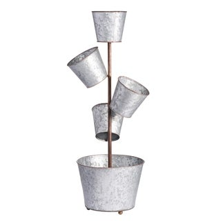 Shelburne 5-Pot Planter, 12x10.5x28.5 inches