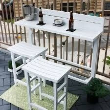 The Balcony Bar - 3 Piece Furniture (2 options available)