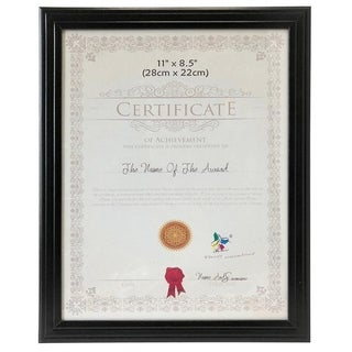 "Wee's Beyond Document/ Certificate Frame 8.5""x11"""