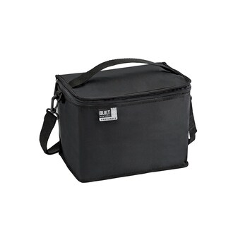Built IceTec Freezable Lunch Cube with Zip Closure Black