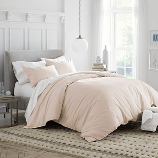 Under The Canopy Brushed Organic Cotton Duvet Cover Set
