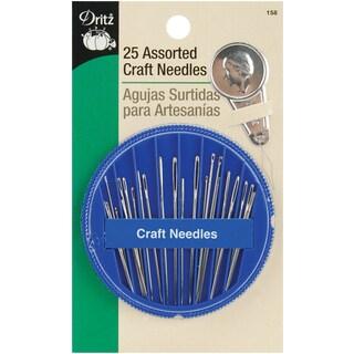 Dritz Assorted Craft Needles 25/Pkg