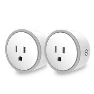 Elf Smart Plug- Compatible with Alexa & Google Home- UL Certified - Equipped with Over-Charging Protection (2 Pack)