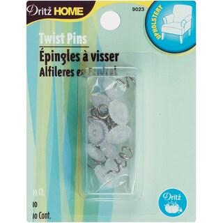 Dritz Home Twist Pins 10/Pkg