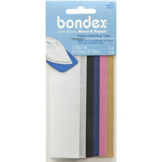 "Bondex Iron-On Mending Tape 7""X1-1/4"" 6/Pkg"