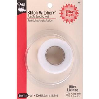 Dritz Stitch Witchery Fusible Bonding Web Ultra-Light