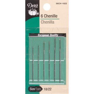 Dritz Chenille Hand Needles 6/Pkg