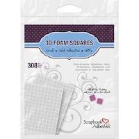 Scrapbook Adhesives 3D Self-Adhesive Foam Squares 308/Pkg
