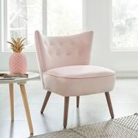 Elle-Accent Chair-Blush