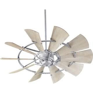 Windmill Transitional Weathered Oak 52-inch 10-blade Ceiling Fan