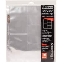 """Ultra Pro 8.5""""x11"""" Refill Pages 10/Pkg"""