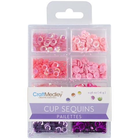 Cup Sequins 7mm .56oz