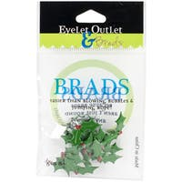 Eyelet Outlet Shape Brads 12/Pkg