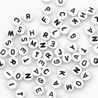 Alphabet Beads 7mm 150/Pkg