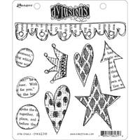 """Dyan Reaveley's Dylusions Cling Stamp Collections 8.5""""X7"""""""
