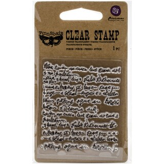 """Finnabair Clear Stamp 2.5""""X3"""""""