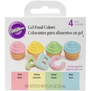 Gel Food Coloring Set 4/Pkg