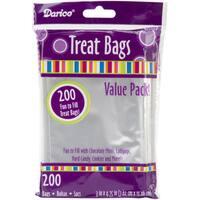 "Treat Bags 3""X4.75"" 200/Pkg"