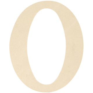 """MDF Classic Font Wood Letters & Numbers 9.5"""""""