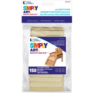 Simply Art Wood Mini Craft Sticks